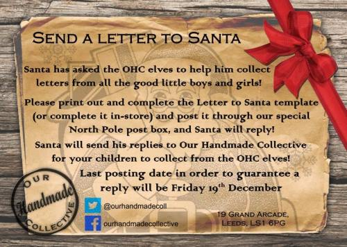 Letter to Santa, Our Handmade Collective